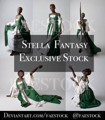 Stella Fantasy Maiden  Exclusive Reference pack