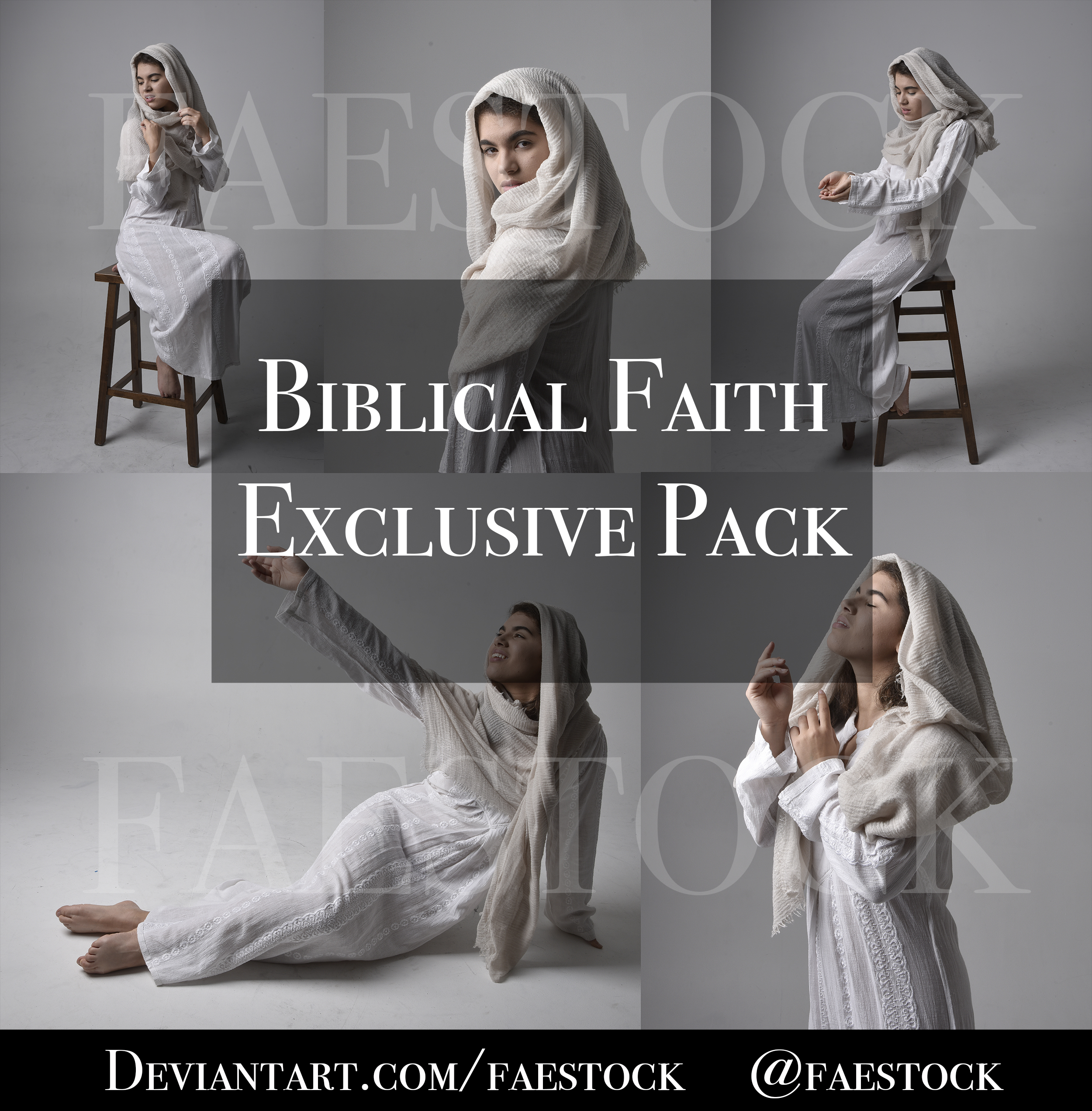 Biblical Faith -  Exclusive Pose Reference pack
