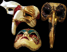 venice masks by WalterMB
