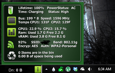 gSystem 2 V2.2 by gmvolk
