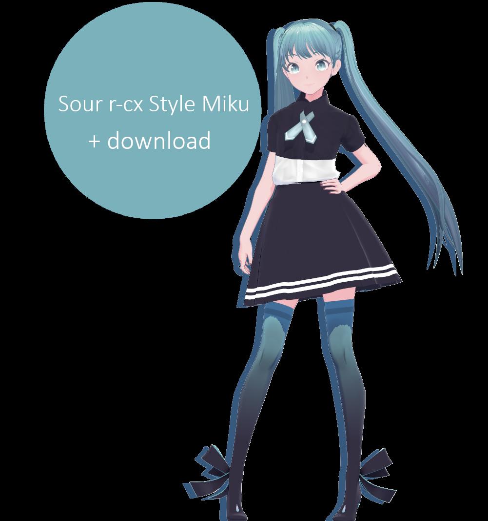 Sour R-cx Style Miku download by r-cx on DeviantArt