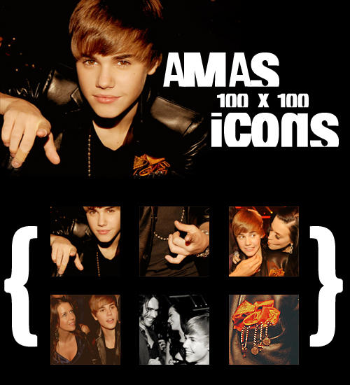 Justin Bieber: AMAs Icons by ~AndSuddenly on deviantART