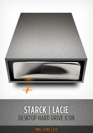 Starck Hardrive Icon by Leo6247