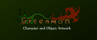 Greenman: Character Art and Animation