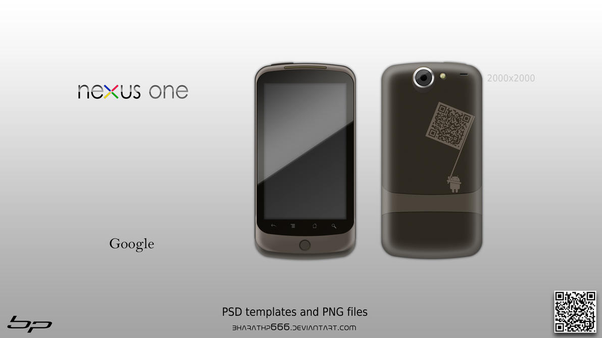 Google Nexus One Template by bharathp666