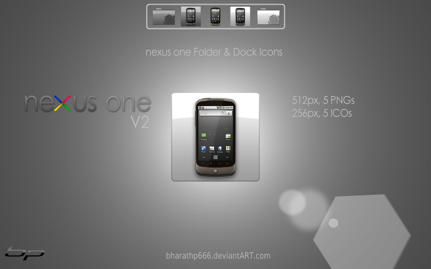 nexus one Dock Icons