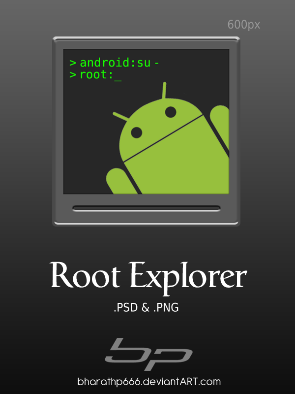 Android: Root Explorer by bharathp666