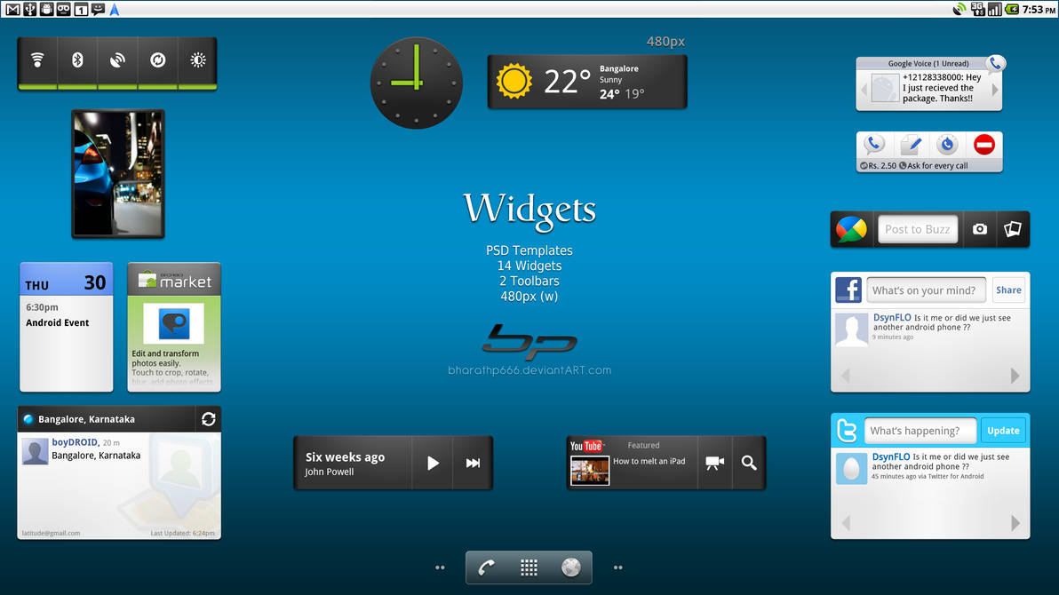 Android: Widgets by bharathp666
