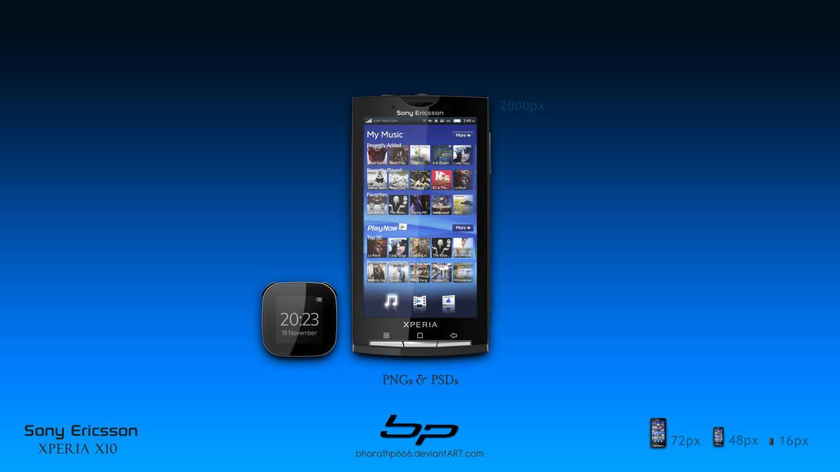 Sony Ericsson Xperia X10 by bharathp666