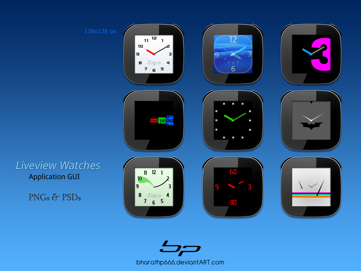 Android: LiveView Watches