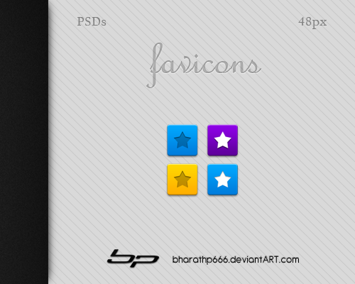 Android: Favicons Template by bharathp666