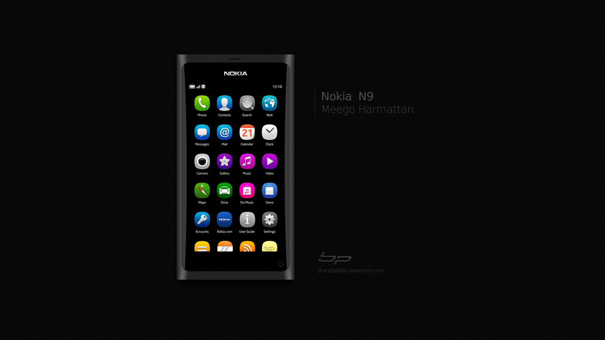 Nokia N9 Black by bharathp666