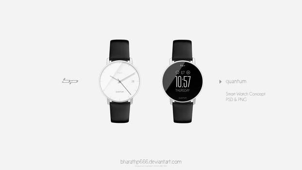 quantum : Smart Watch concept