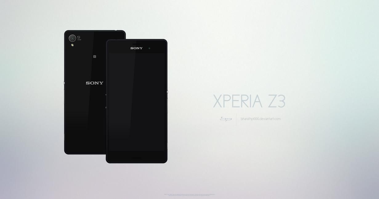 Sony Xperia Z3 by bharathp666