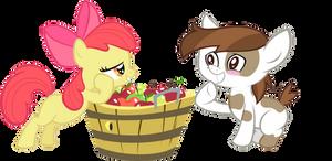 Applebloom x Pipsqueak