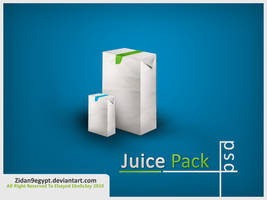 Juice Pack psd by ZiDaN9EGYPT