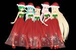 MMD Holiday Girls Download