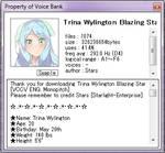 Trina Wylington BlazingStar ENG Demo[Discontinued]