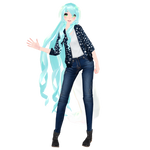 [MMD Download] Trina Wylington Winter Casual 2