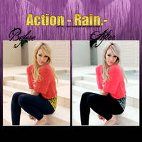 Action- Rain.- by ann483