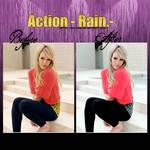 Action- Rain.-