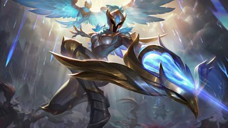 Warden Quinn - League of Legends Splash Art