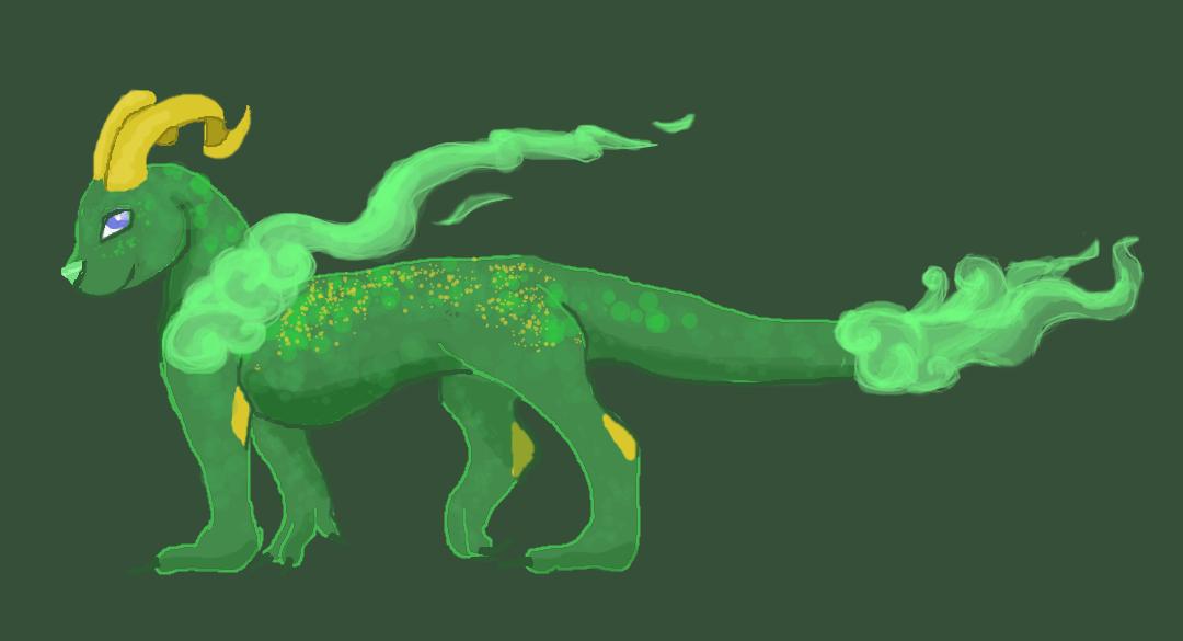 MYO Misty Dragon by SpottedTigress