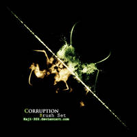 Corruption Brush Set by Kaji-303