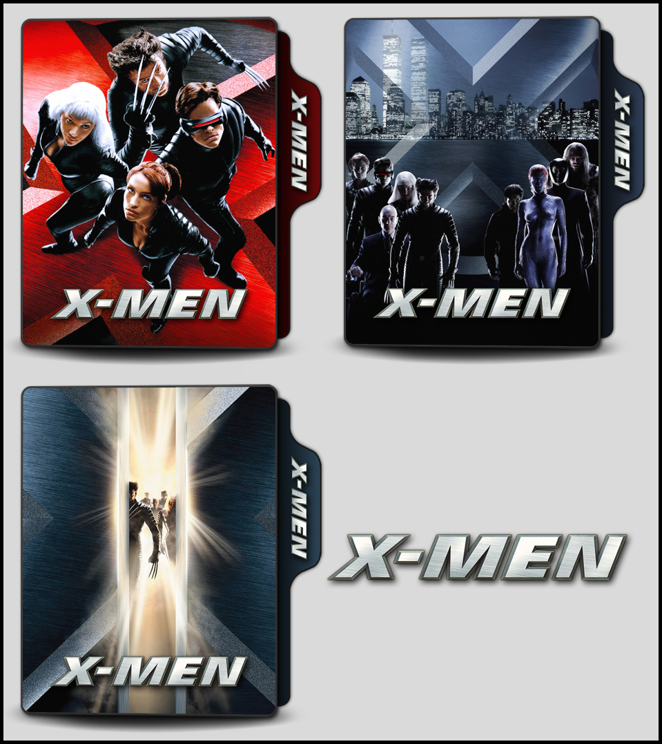X Men 2000 Folder Icons By Onlystylematters On Deviantart