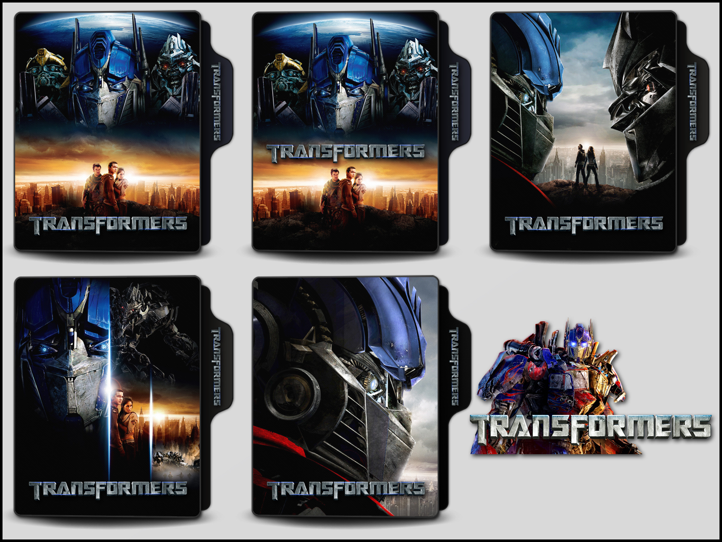 Transformers 2007 Folder Icons By Onlystylematters On Deviantart