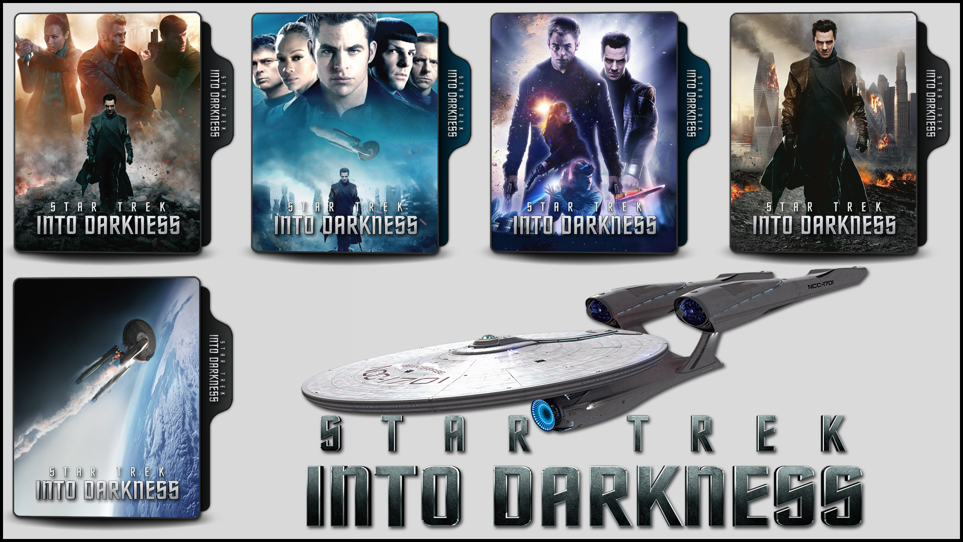 Star Trek Into Darkness 2013 Folder Icons By Onlystylematters On Deviantart
