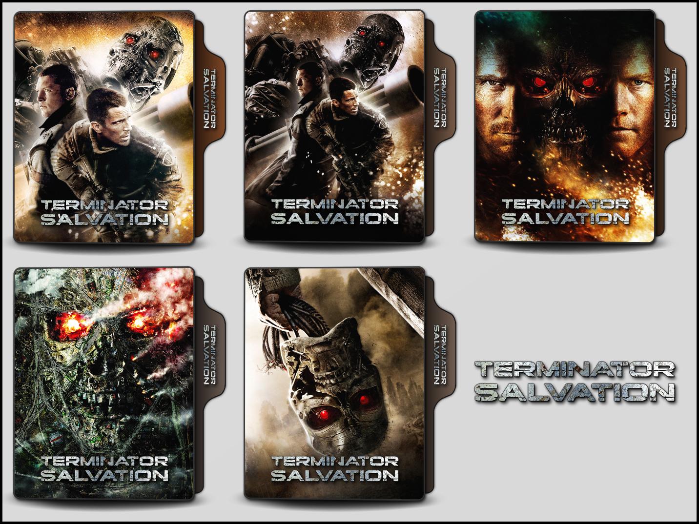 Terminator Salvation 2009 Folder Icons By Onlystylematters On Deviantart