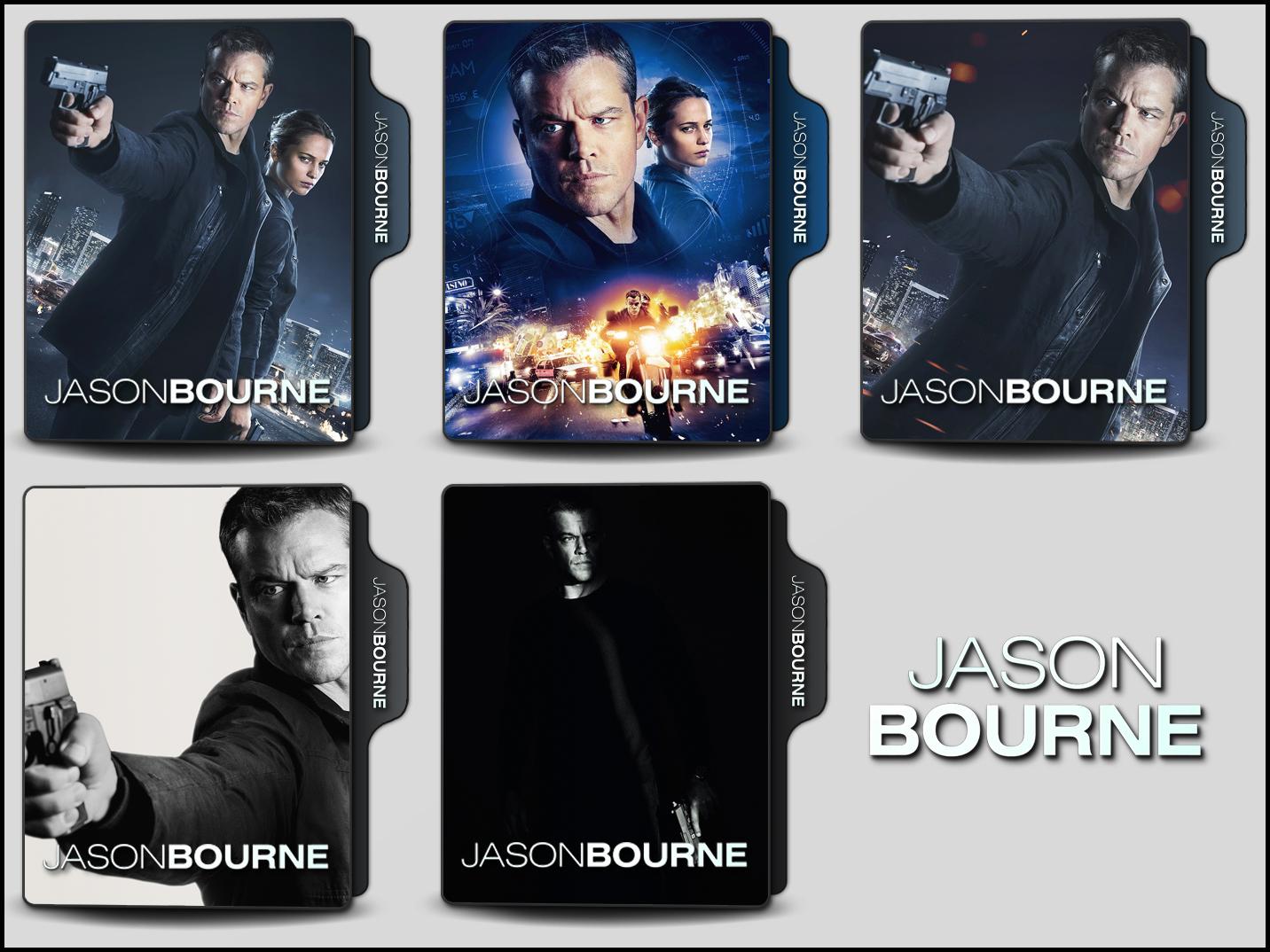 Jason Bourne 2016 Folder Icons By Onlystylematters On Deviantart