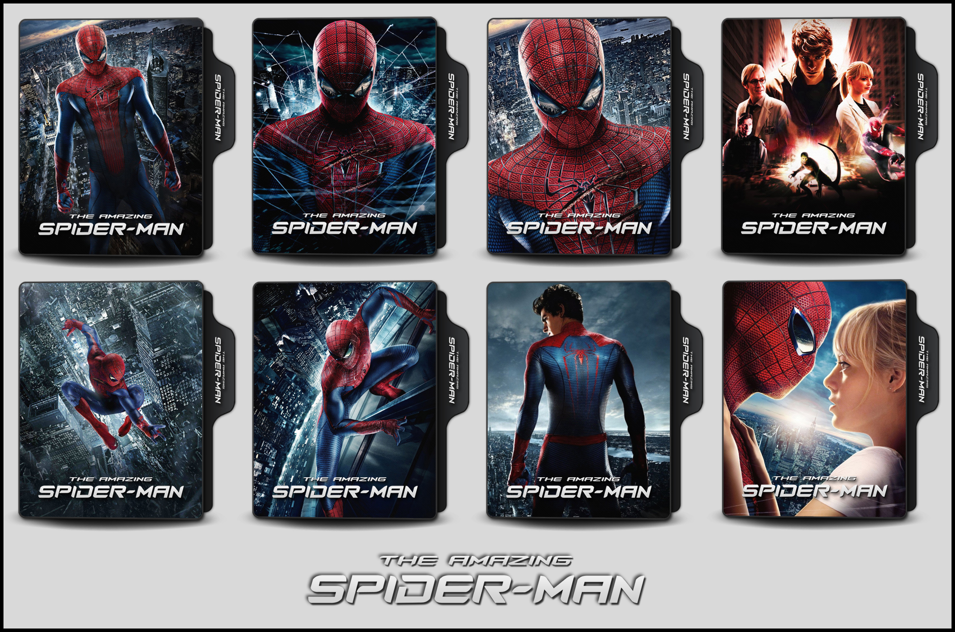 The Amazing Spider Man 2012 Folder Icons By Onlystylematters On Deviantart