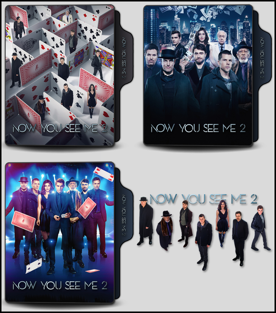Now You See Me 2 2016 Folder Icons By Onlystylematters On Deviantart