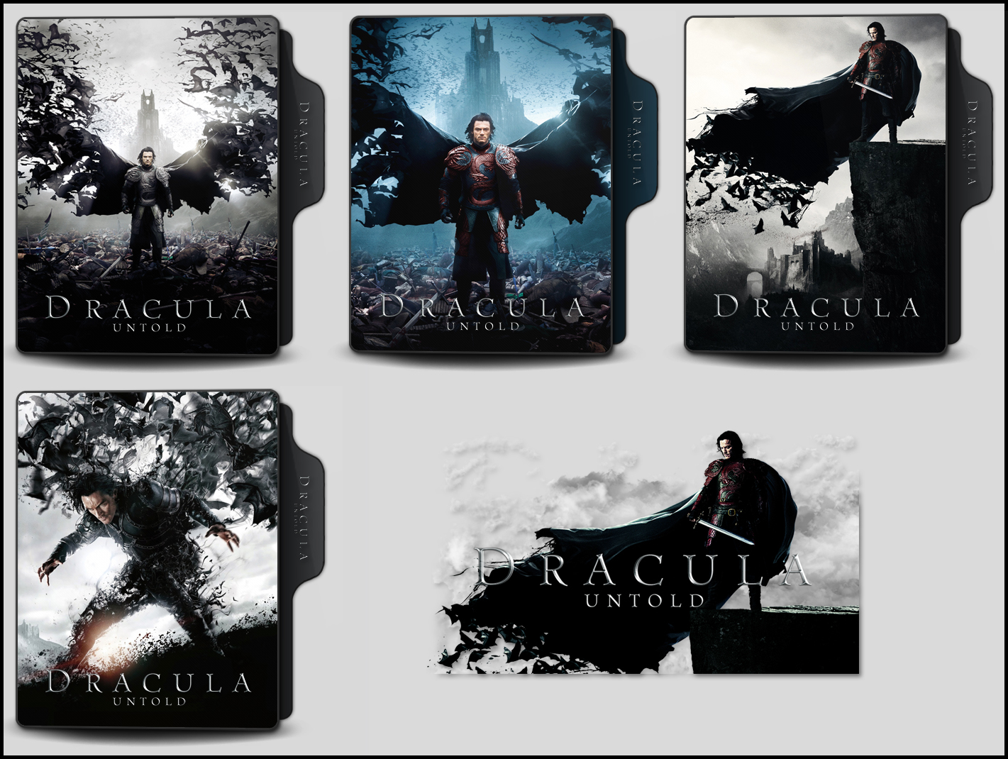 Dracula Untold 2014 Folder Icons By Onlystylematters On Deviantart