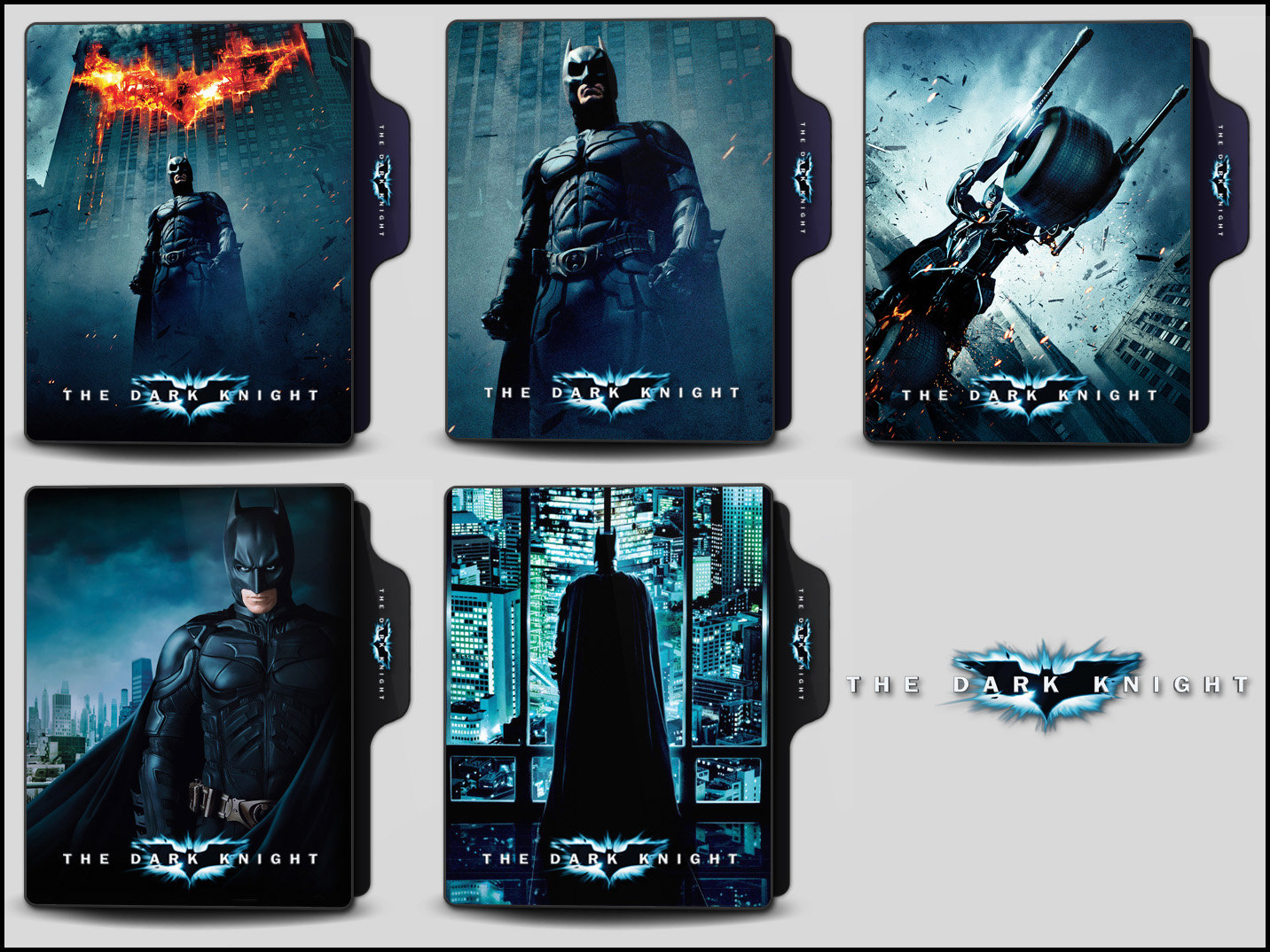 The Dark Knight 2008 Folder Icons By Onlystylematters On Deviantart