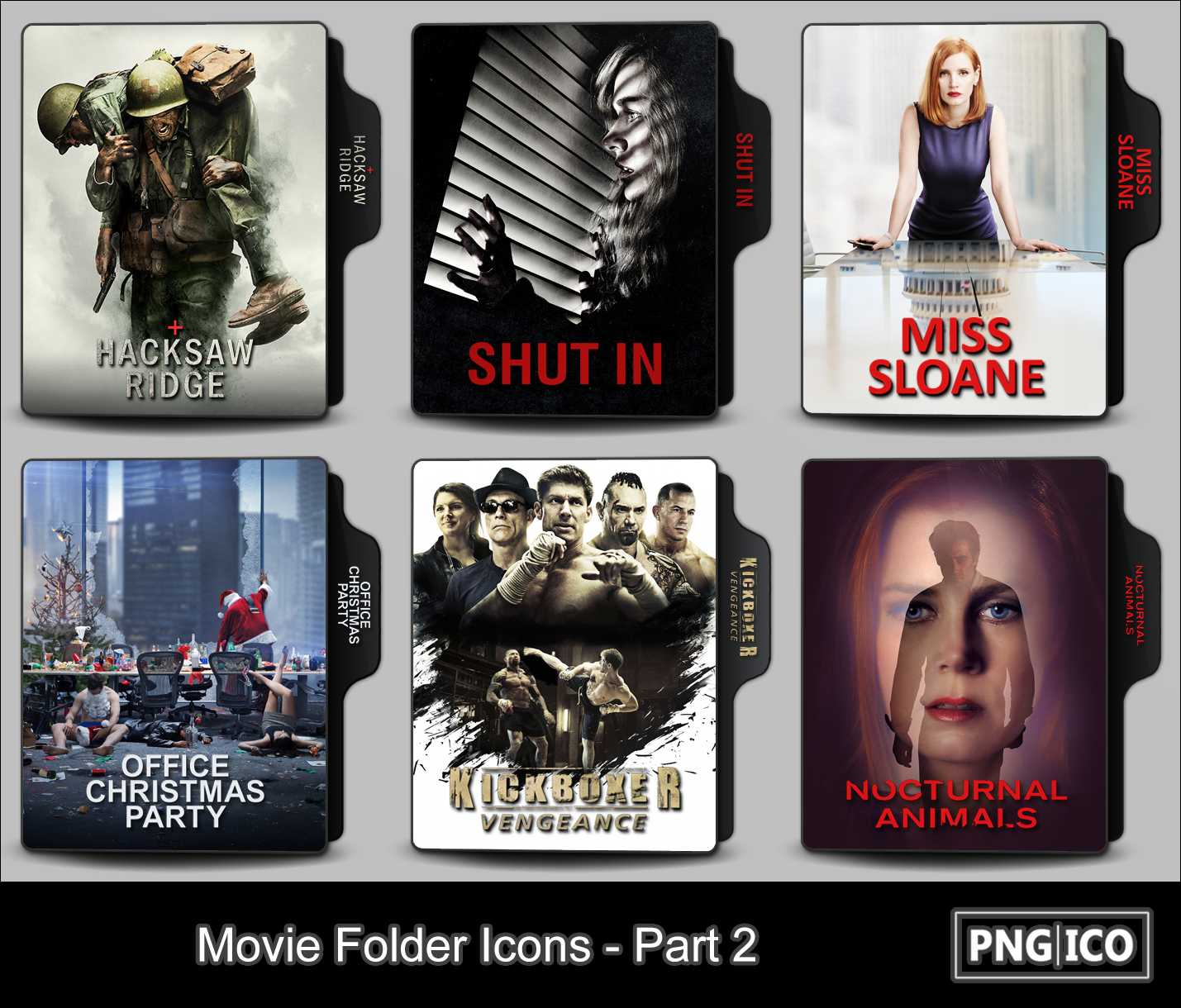 Movie Folder Icons - Part 2 by OnlyStyleMatters on DeviantArt