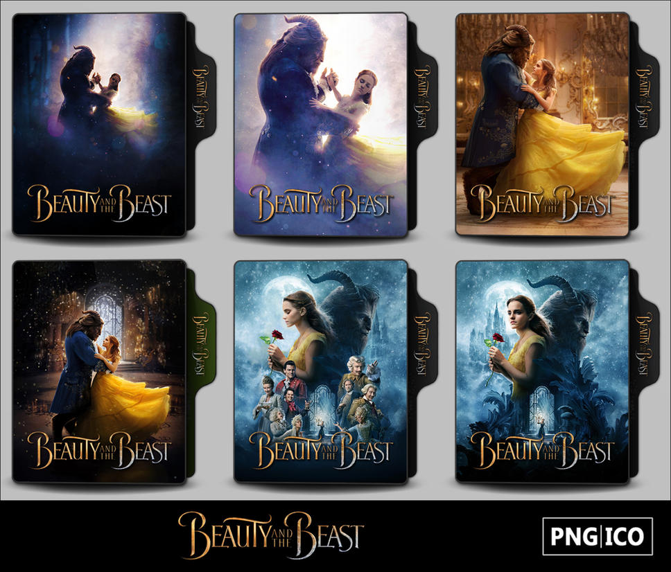 Beauty and the Beast (2017) Folder Icons by OnlyStyleMatters