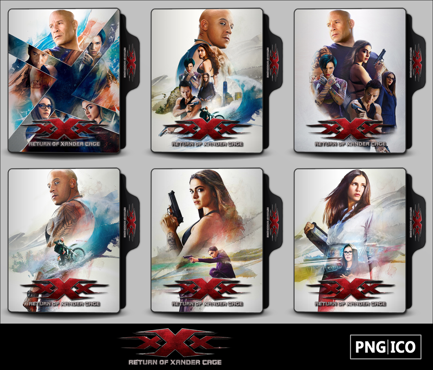 Xxx Return Of Xander Cage 2017 Folder Icons By Onlystylematters On Deviantart