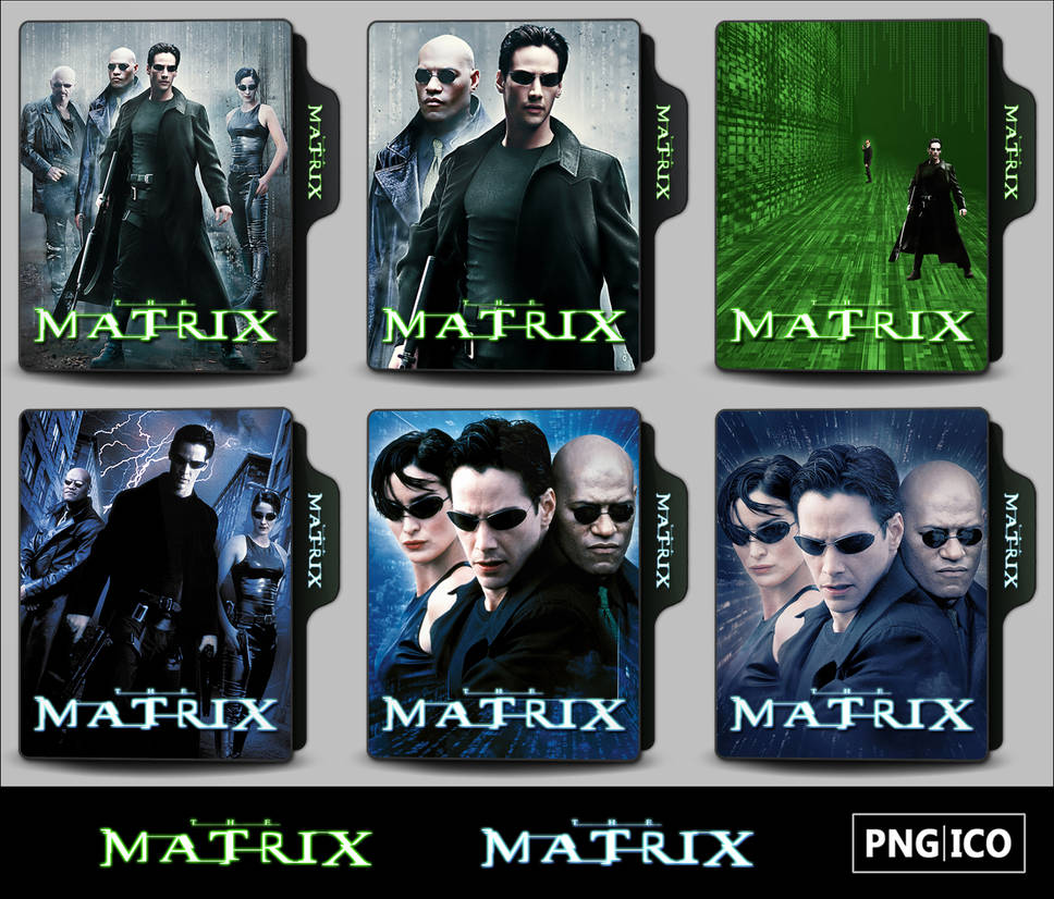 The Matrix 1999 Folder Icons By Onlystylematters On Deviantart