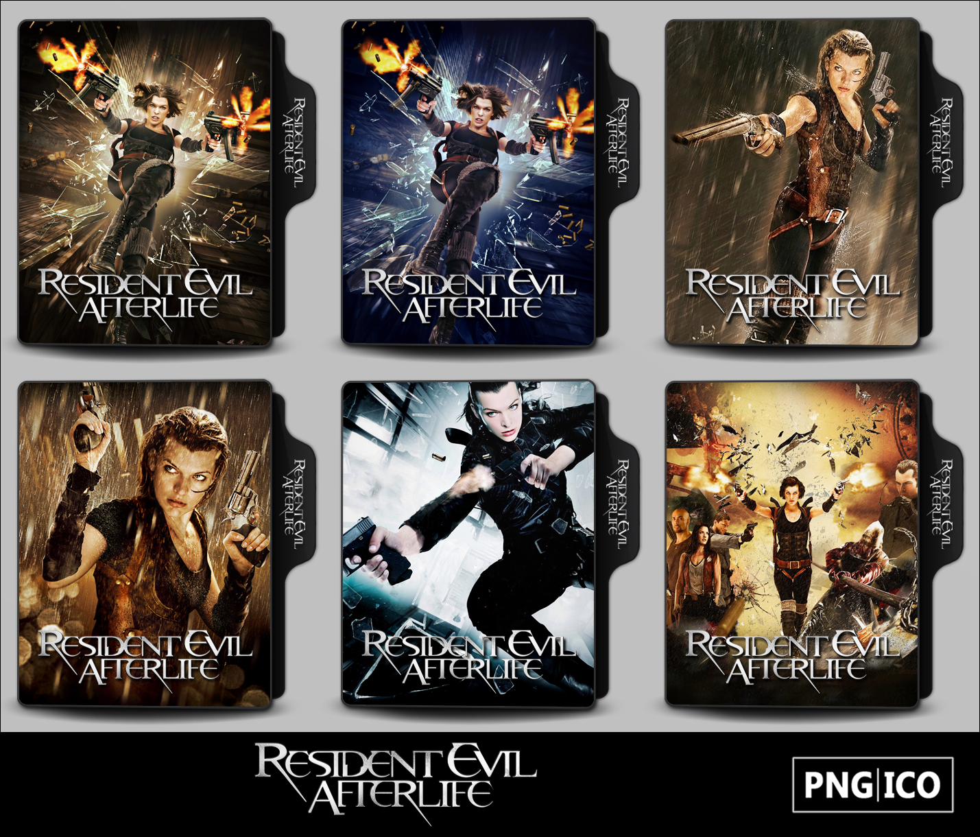 Resident Evil Afterlife 2010 Folder Icons By Onlystylematters On Deviantart