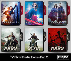 TV Show Folder Icons - Part 2 by OnlyStyleMatters