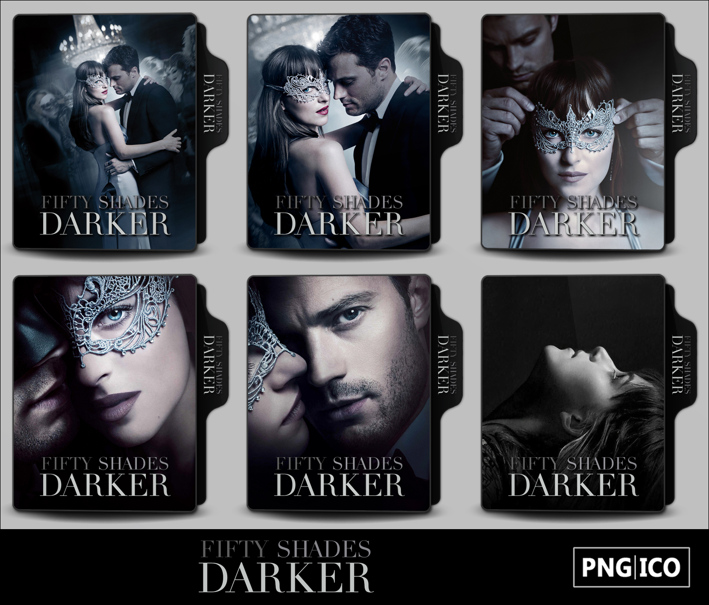 Fifty Shades Darker 2017 Folder Icons By Onlystylematters On Deviantart