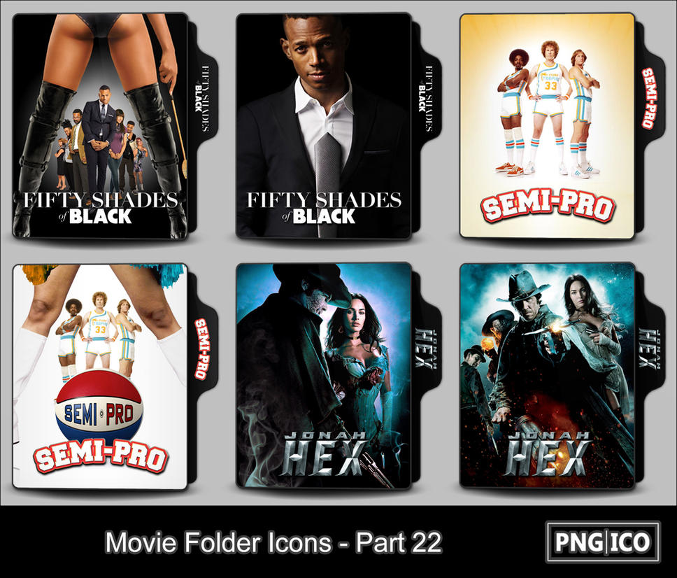 Movie Folder Icons - Part 22 by OnlyStyleMatters