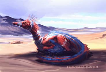 Byronosaurus process. by marciolcastro