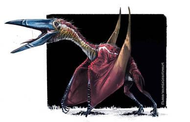 Zhejiangopterus by marciolcastro