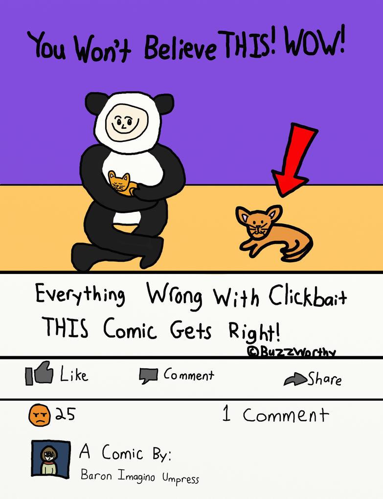 Clickbait Comic by BIUmphress