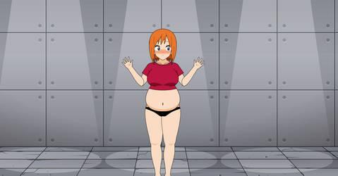 Chubby Anna to Slim Anna (Body transformation)
