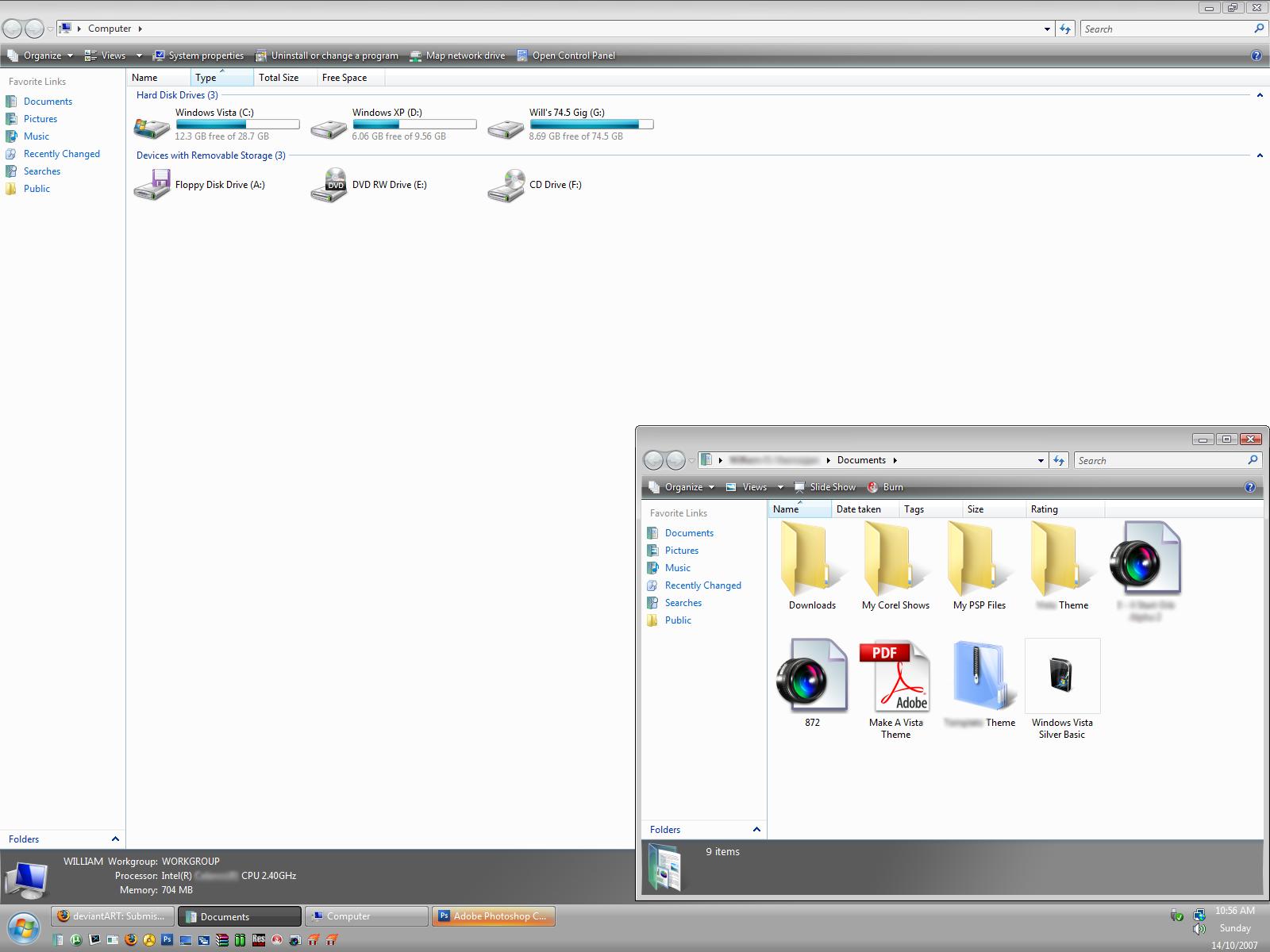 Windows Vista Silver BASIC by Tha-Elf